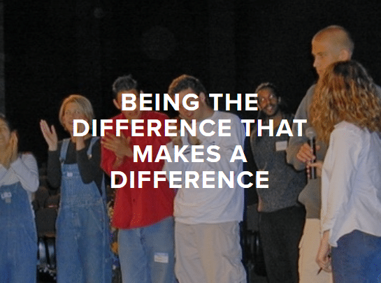 Being the Difference