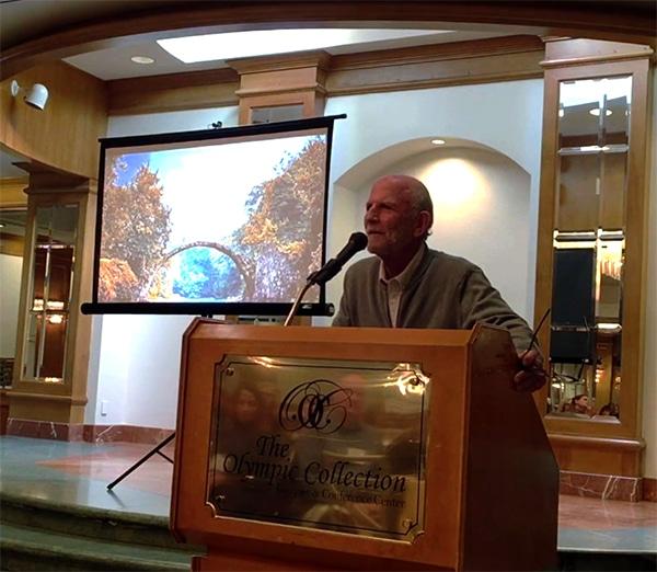 Robert Strock Speaking Photo