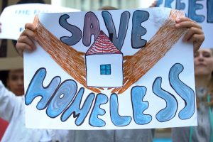 Save Homeless Poster